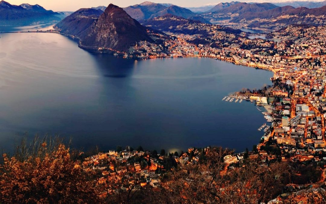 Visit Lugano in Switzerland, one of the hidden places in Europe