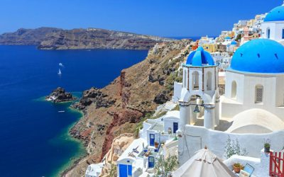 Visit Santorini in Greece, one of the hidden places in Europe
