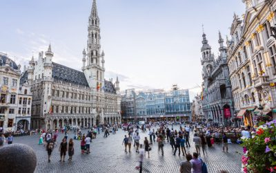 Amsterdam to Brussels by train