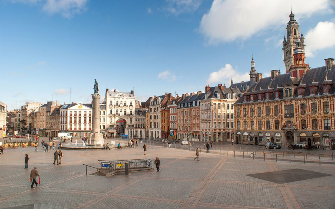 Amsterdam to Lille by train